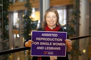 Malin Björk kämpar för SRHR i Europaparlamentet,